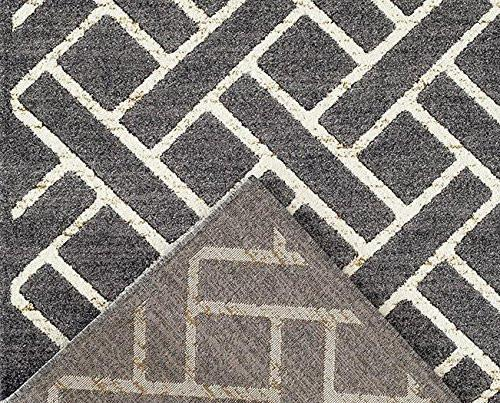 4057 Gray | Gray Contemporary Area Rugs