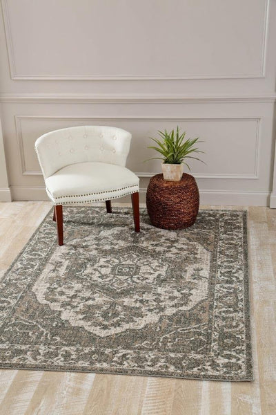 1647 Beige Distressed Oriental Area Rugs