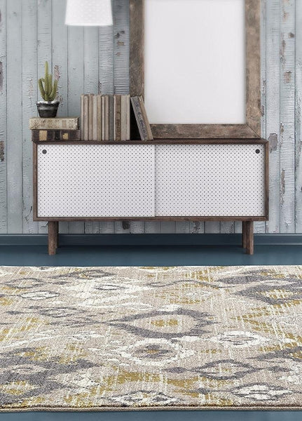 2160 Beige | Beige Abstract Contemporary Area Rugs