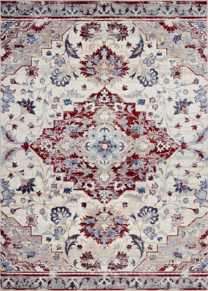 2121 Beige Red Victoria Oriental Area Rugs
