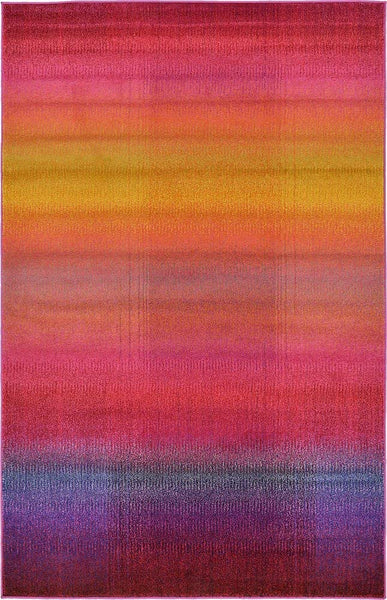 9926 Multi-Color Abstract Modern Contemporary Area Rugs