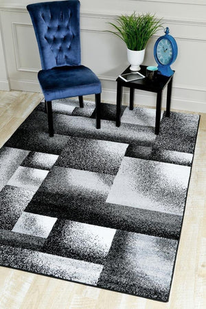 2013 Gray Geometric Contemporary Area Rugs