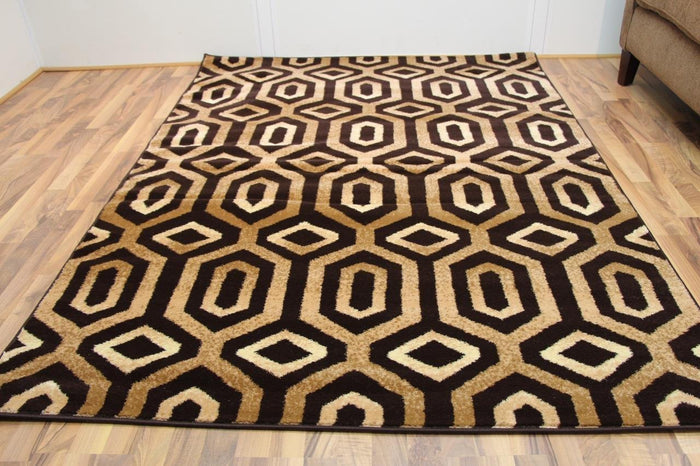 2017 Brown Moroccan Trellis Area Rugs