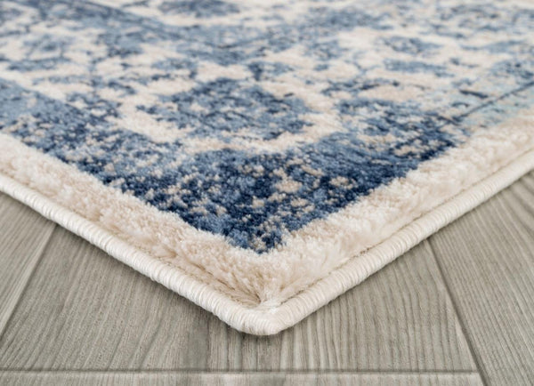 2187 Ivory Distressed Oriental Area Rugs
