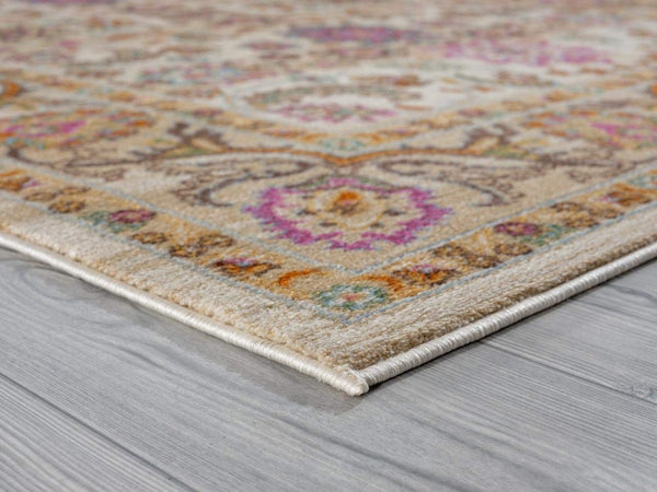 2205 Pink Distressed Vintage Persian Area Rugs