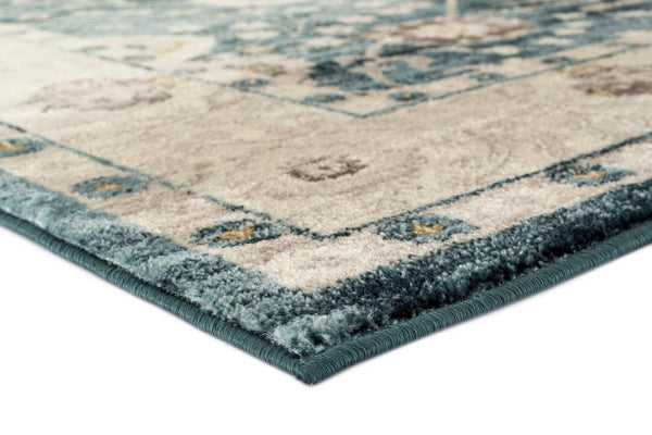 2532 Blue Oriental Persian Area Rugs
