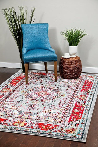 01100 Gray Oriental Area Rugs