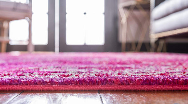 5127 Magenta Distressed Vintage Oriental Area Rugs
