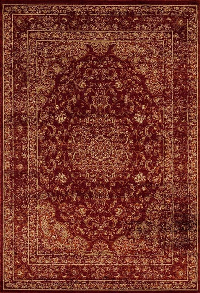 Royalty Red Distressed Persian Oriental Rug Area Rugs