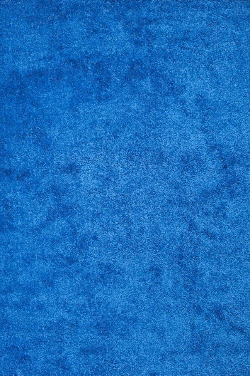 Blue Contemporary Shag Area Rugs ...