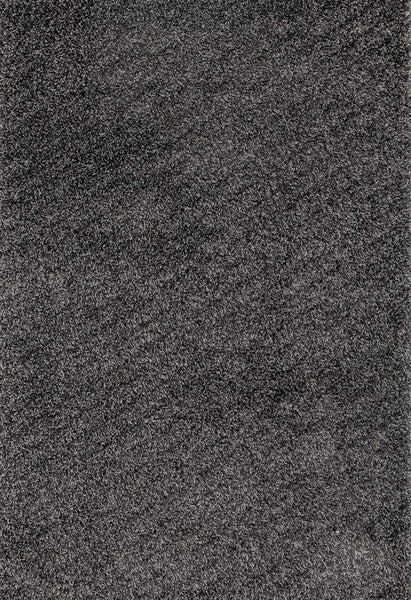 Gray Shag Plain Solid Color Area Rugs