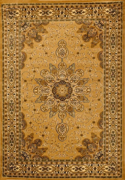 1001 Beige - Bargain Area Rugs  - 1