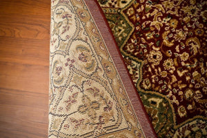 Red Green Persian Rugs Isfahan Oriental Large Area Rugs