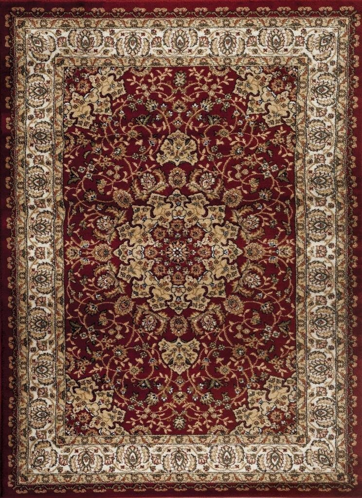 Persian Rugs Red Isfahan Oriental Classic