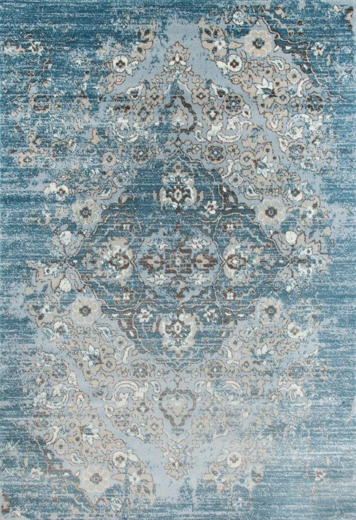 New Royalty, Blue Distressed Persian Oriental Rug | Discount Area Rugs  PA97
