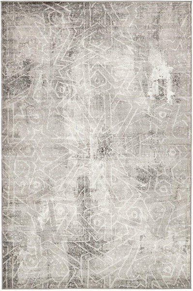 5099 Gray Distressed Oriental Area Rugs