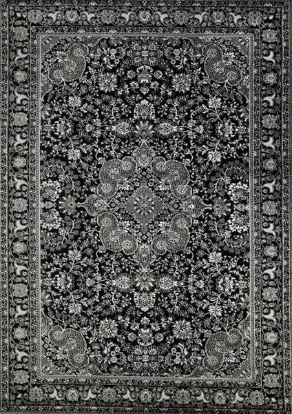 3045 Gray Colorful Isfahan Oriental Area Rugs