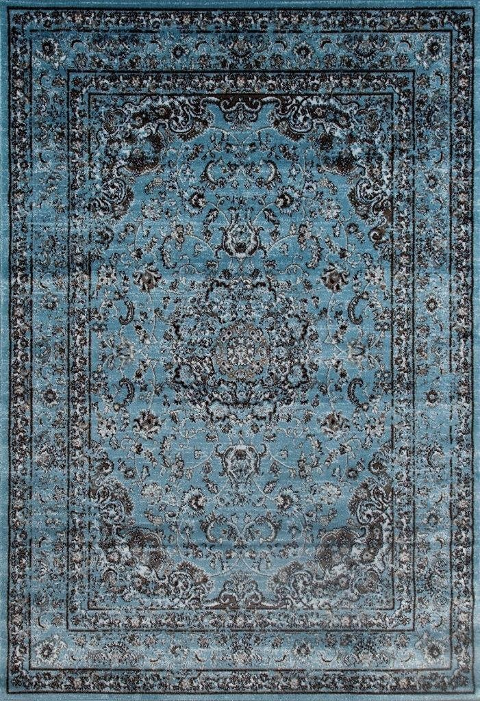 Excellent Royalty, Blue Distressed Persian Oriental Rug | Clearance Area  RP81