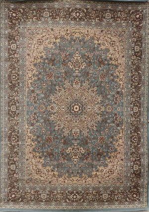 Persian-Rugs Blue Isfahan Oriental Area Rugs | Bargain Area Rugs