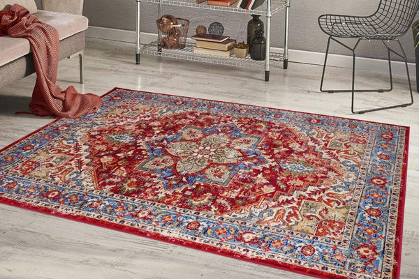 2216 Red Persian Oriental Area Rugs