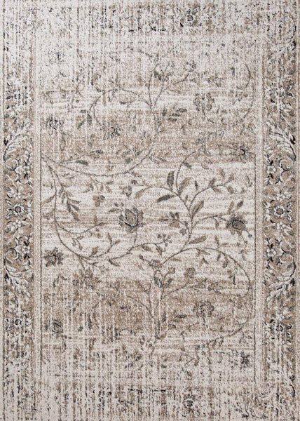 1860 Beige Distressed Oriental Area Rugs