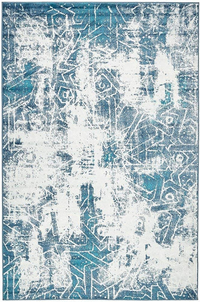 5099 Blue Distressed Oriental Area Rugs