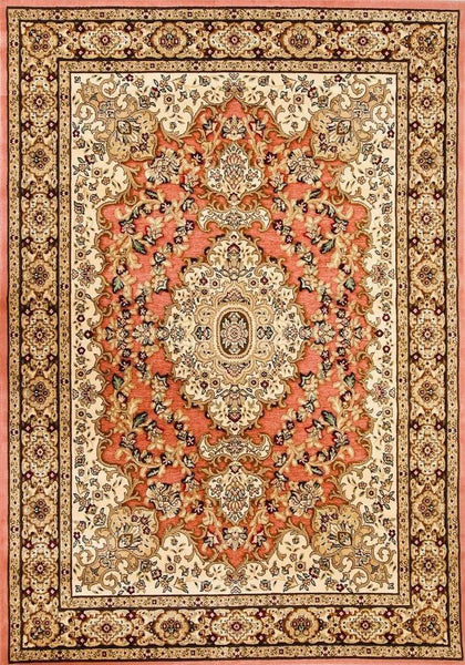 3877 Rose Carved Oriental Area Rugs
