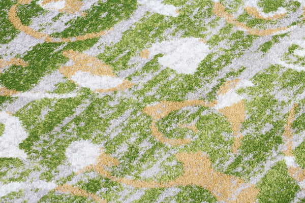 5520 Green Distressed Area Rugs