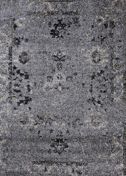 1306 Gray Distressed Oriental Area Rugs