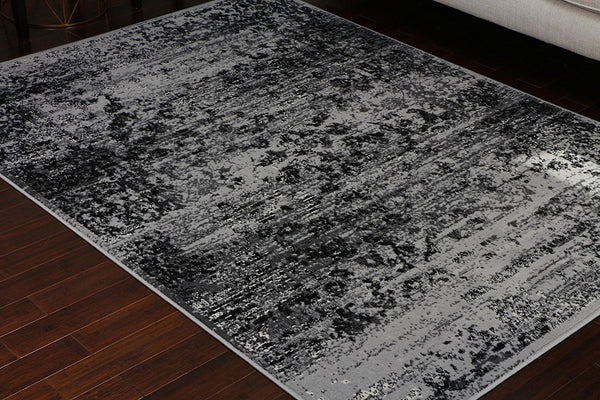 4060 Silver Distressed Oriental Area Rugs