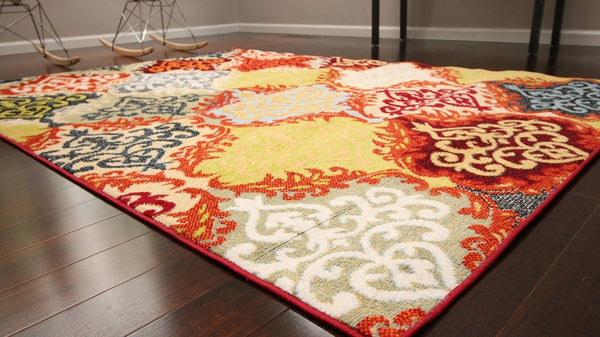 4053 Multi-Color - Bargain Area Rugs  - 4