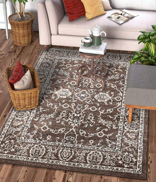 6117 Brown Persian Vintage Oriental Area Rugs