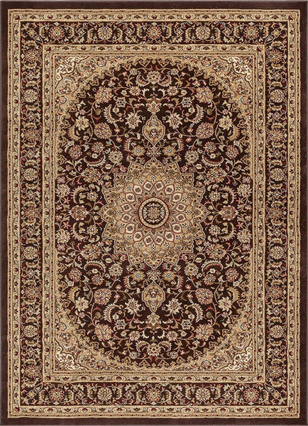 6109 Brown Medallion Persian Area Rugs