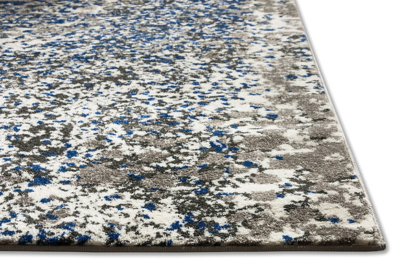 2949 Gray Blue Modern Contemporary Area Rugs