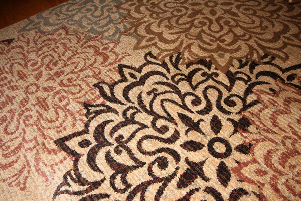 2044 Beige - Bargain Area Rugs  - 5