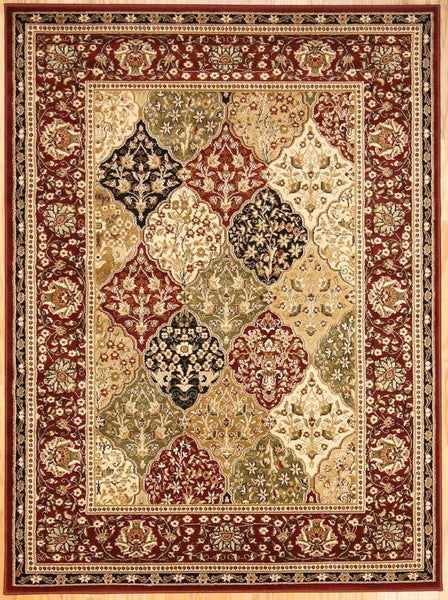 1019 Red - Bargain Area Rugs  - 1