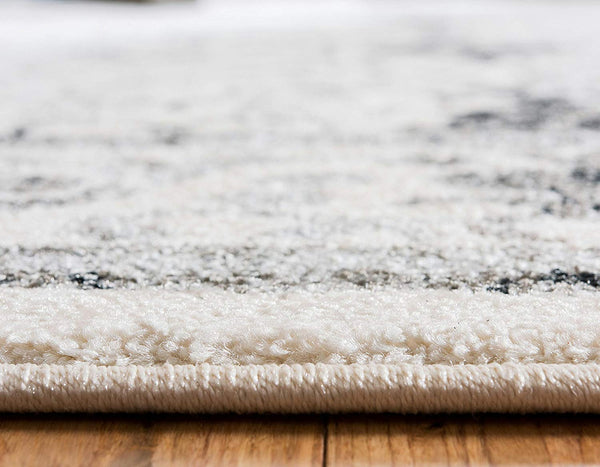 5114 Ivory Distressed Oriental Area Rugs