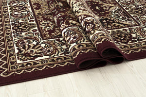 0554 Red Oriental Area Rugs