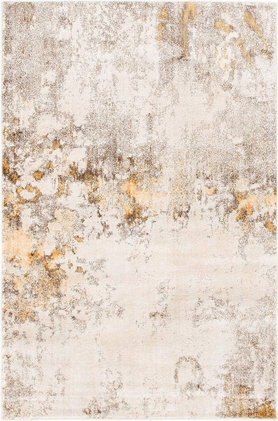 0154 Beige Modern Over-Dyed Contemporary Area Rugs