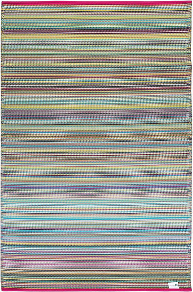 7111 Multi Color Recycled Indoor/Outdoor Area Rugs