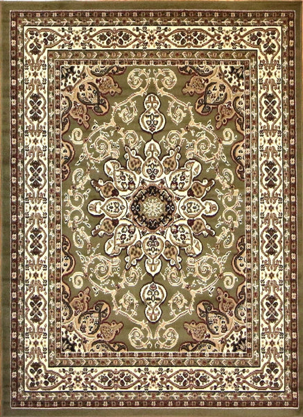 Persian Rugs Green Isfahan Oriental Rugs | Bargain Area Rugs