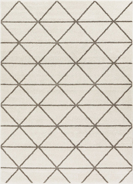 2915 Ivory Soft & Thick Contemporary Area Rugs