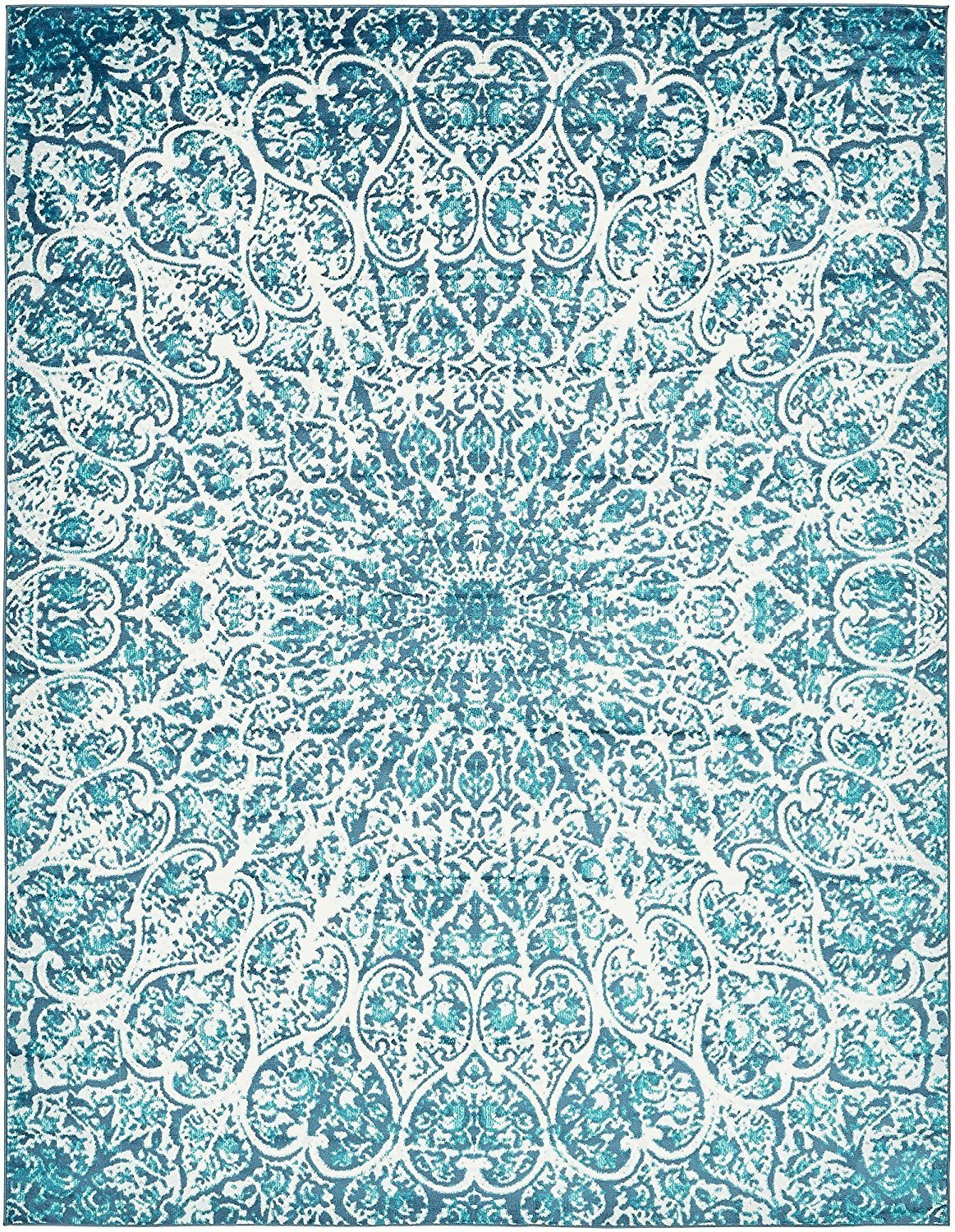 turquoise abstract area rugs