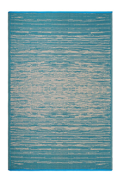 7115 Teal Reversible Outdoor/Indoor Area Rugs