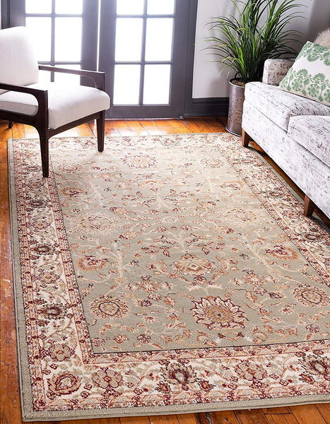 5111 Green Oriental Persian Area Rugs