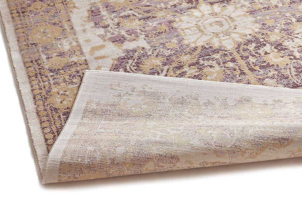 2918 Lavender Purple Tribal Distressed Persian Area Rugs