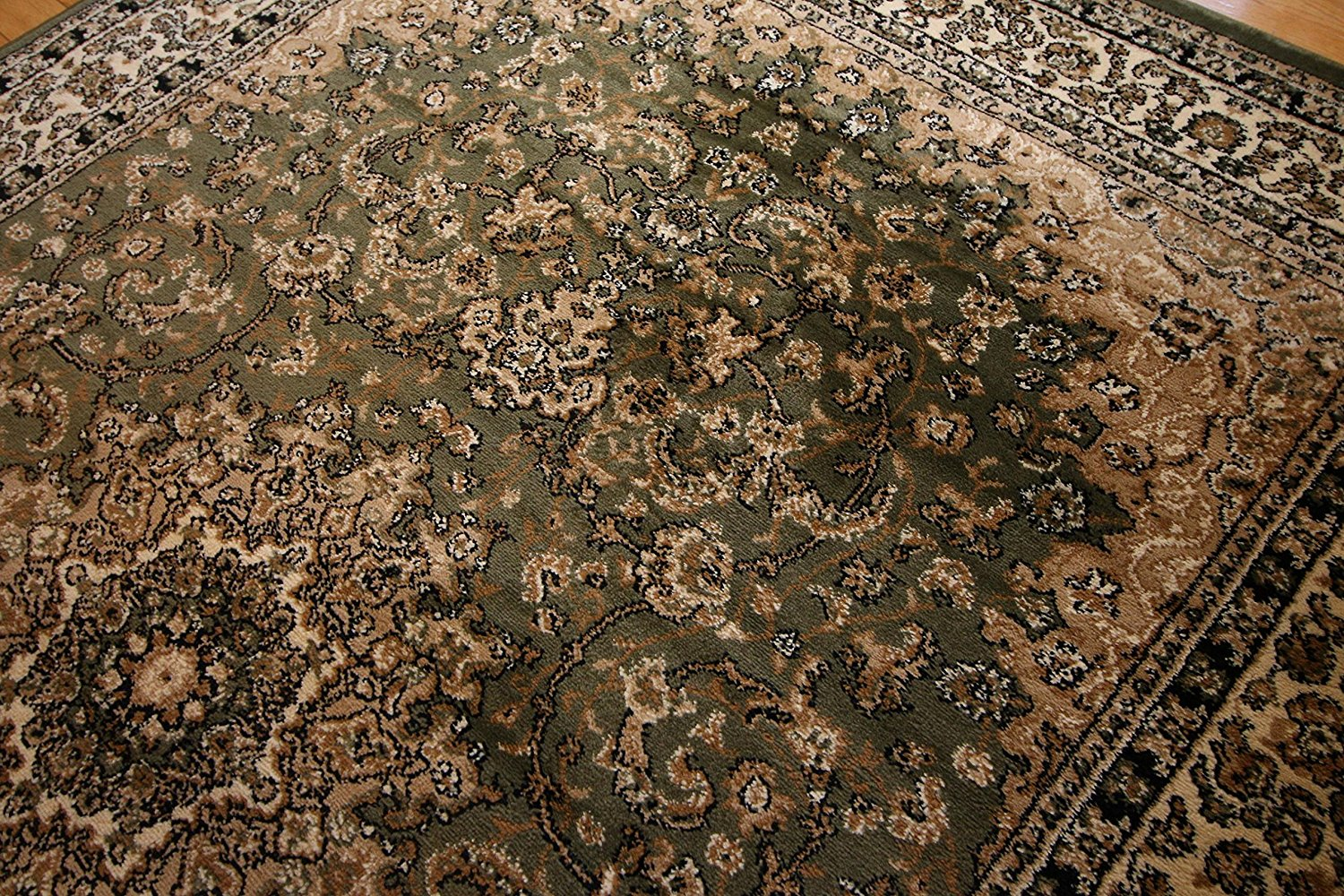 Royalty Green Persian Oriental Rug Area Rugs Cheap