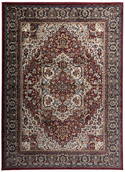 2914 Red Medallion Persian Area Rugs