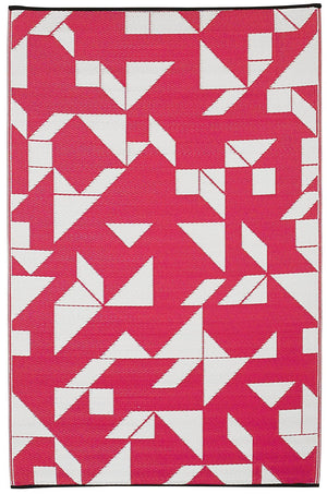 7125 Hot Pink Reversible Outdoor/Indoor Area Rugs