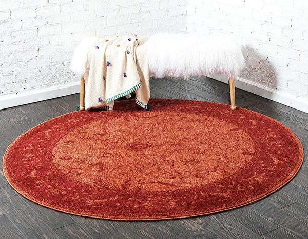 5121 Red Oriental Area Rugs